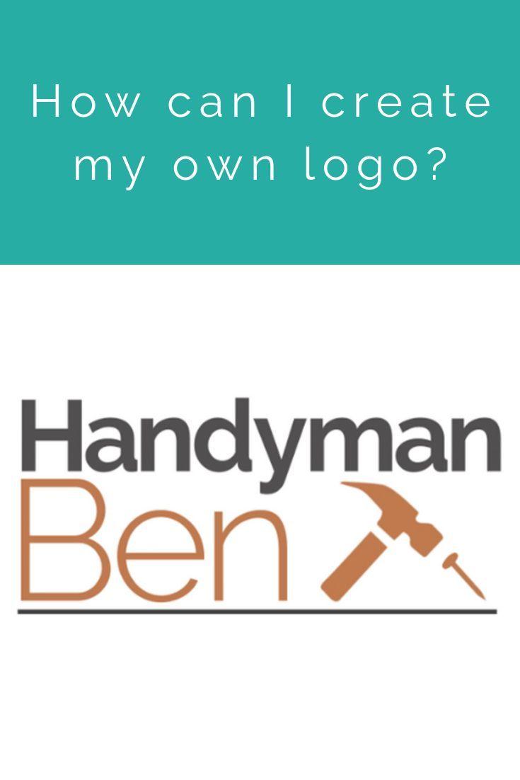 How can I create my own logo? in 2020 | Create my own logo ...