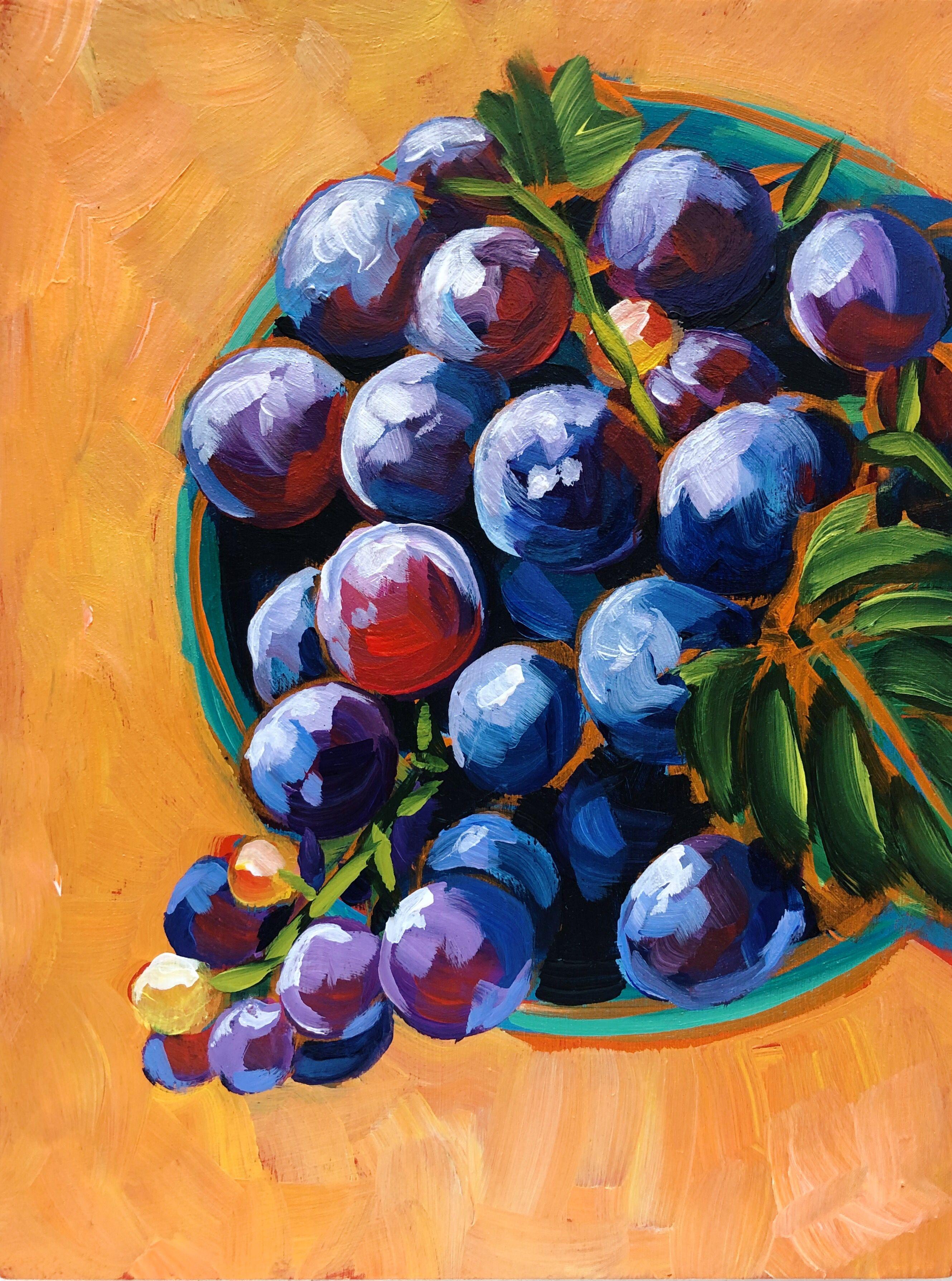 Pin by Jen Murphy on Art in 2020 Grape painting, Art