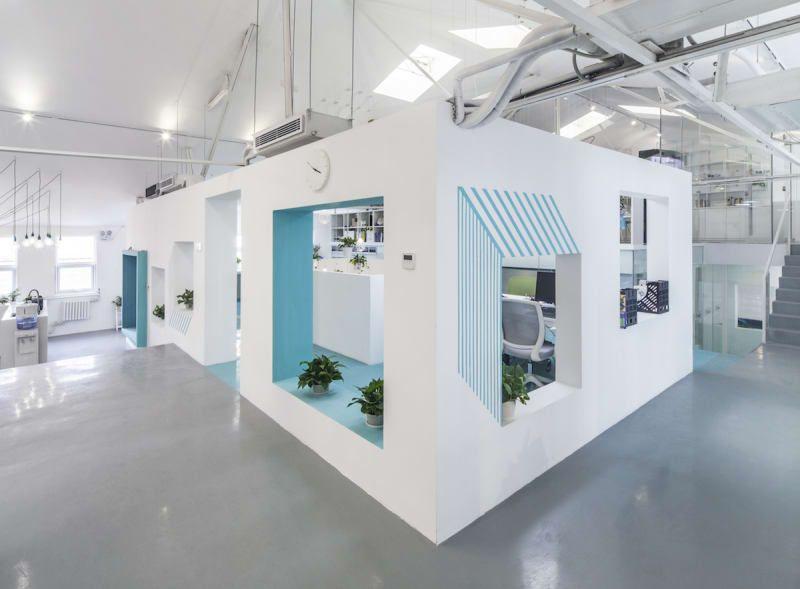 matoffice · Beaver Workshop Office Space in Beijing biurai
