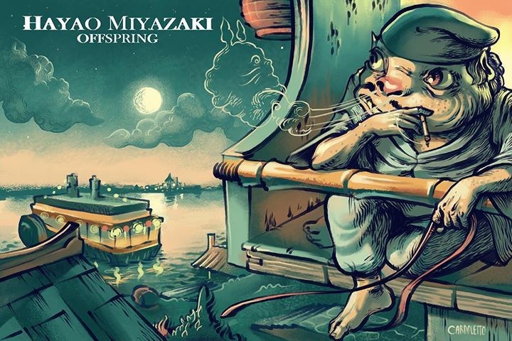 Chichiyaku (Spirited Away) by João Cardoletto - This character is ©Hayao Miyazaki and this art is just a tribute, no commercial intents. #hayaomiyazakioffspring