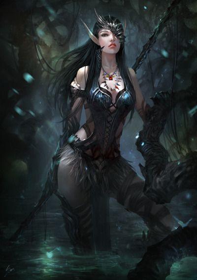 Artofmisc Fantasy Art Dark Fantasy Art Fantasy Girl
