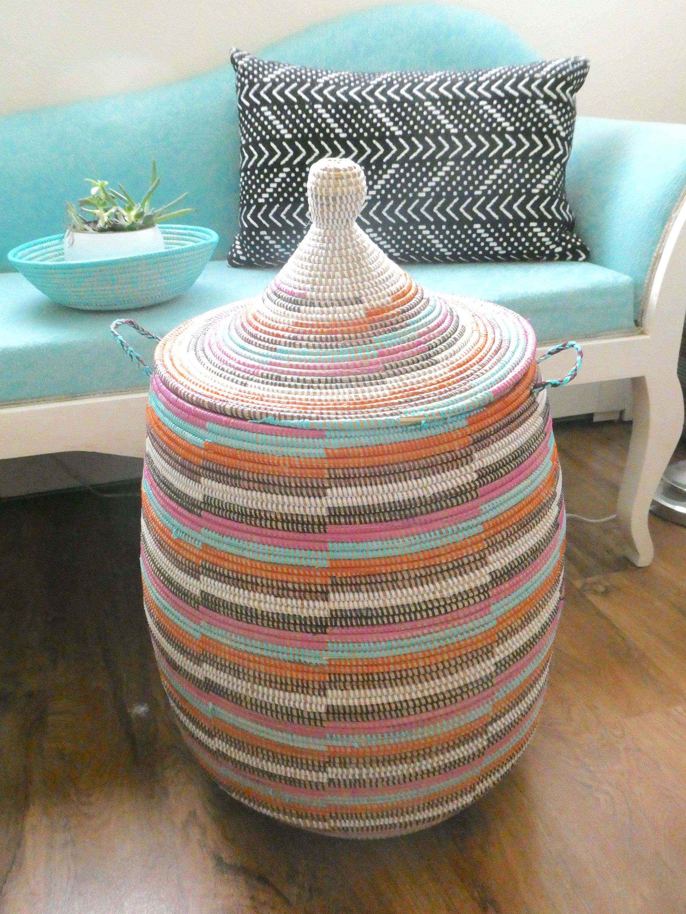 African baskets new design eclectic toy storage home decor