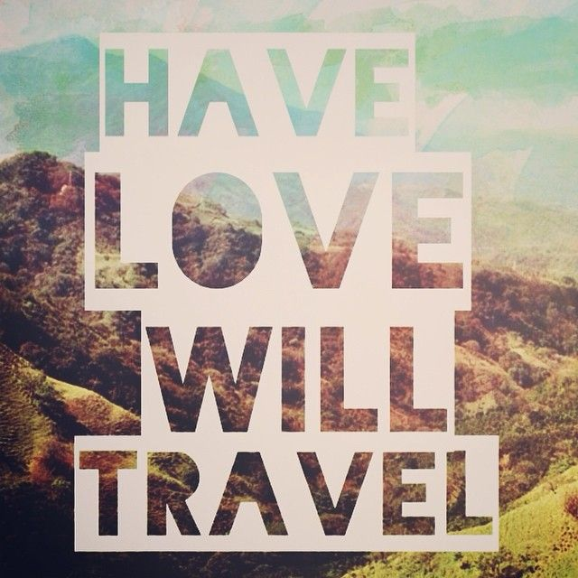 Have love, will travel. #earmarksocialgoods   Text on ...