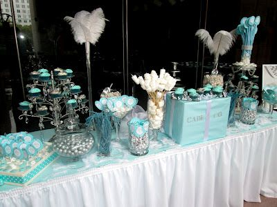 tiffany themed party favors real college student of atlanta tiffany co themed wedding. Black Bedroom Furniture Sets. Home Design Ideas