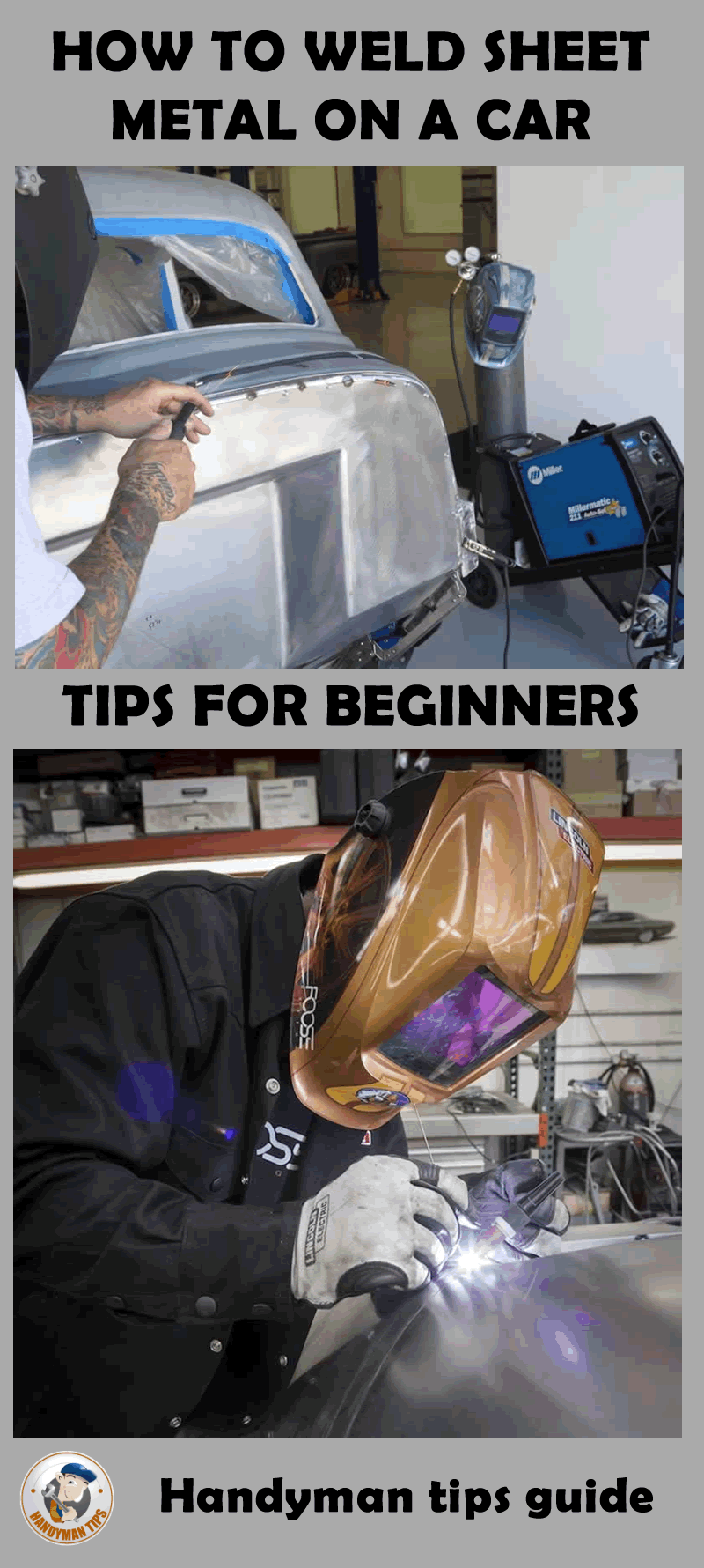 How To Weld Sheet Metal On A Car Diy Welding Welding Projects Welding And Fabrication