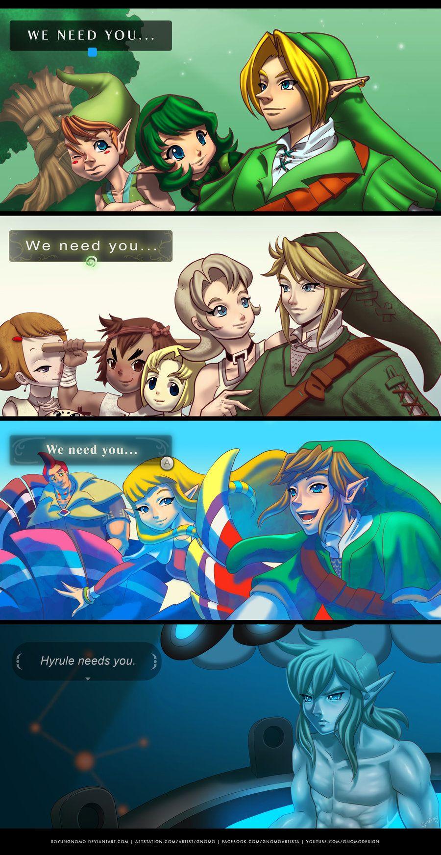 Legend Of Zelda Breath Of The Wild Paintings 13 Pinterest