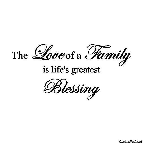 Charmant Love Of A Family...   Quote Generator QuotesAndSayings