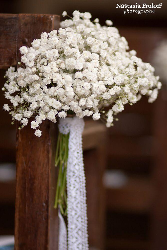 Déco Eglise fleur Idées de mariage Pinterest