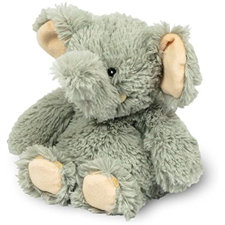 "Intelex Cozy Heatable Plush 6"" Junior Elephant, Lavender"