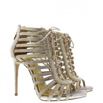 Sandales Luxe et Sandales Haut Gamme vente en ligne | Mercedeh : 8598 MICRO STR by Mercedeh Shoes