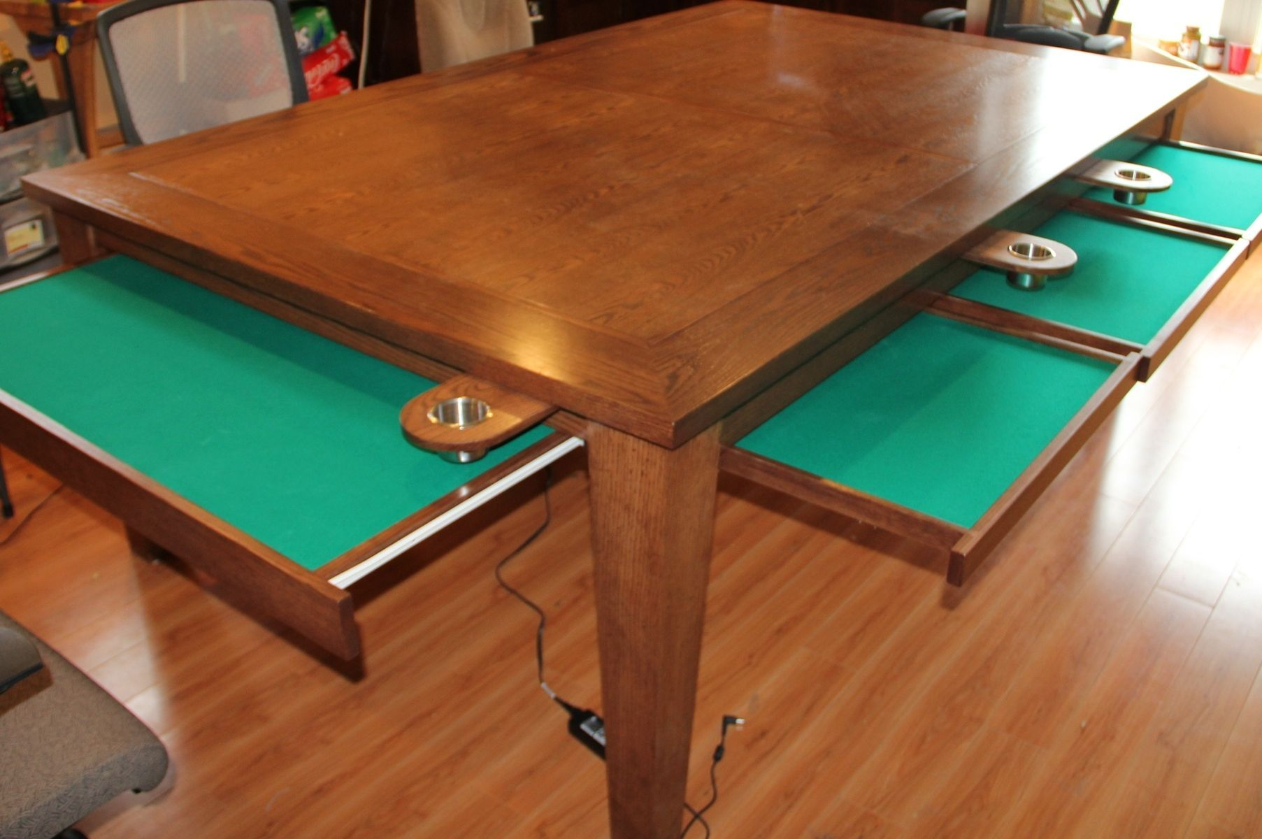 My Custom Game Table Inspired by geekchic
