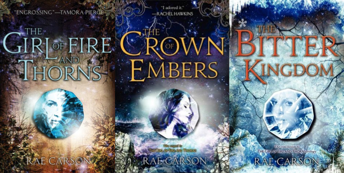 Image result for girl of fire and thorns series