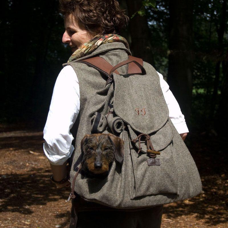 Hunderucksack \