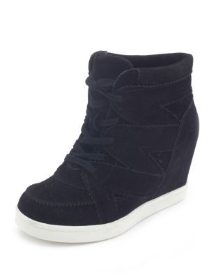 wedge sneaker | Andrea shoes