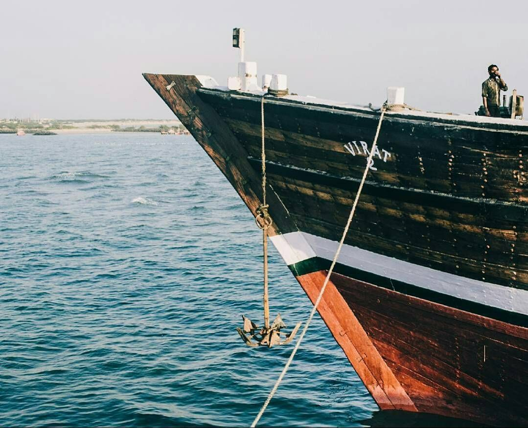 Mandvi And Its Wooden Ship Building Business At Kutch Gujarat Pic By Divdvs
