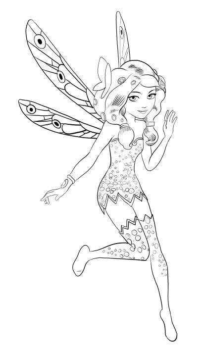 Coloriages gratuits Mia et moi (mia and me) | COLORING | Pinterest ...