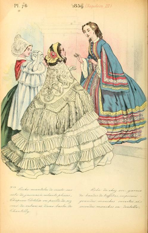 La mode pendant quarante ans de 1830 à 1870 par Louis Colas