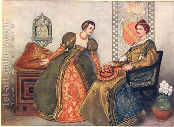 nerissa as a friend in the merchant of venice by william shakespeare William shakespeare's satirical comedy, the merchant of venice, believed to   bassanio and portia marry, as do his friend, gratiano and portia's maid, nerissa.