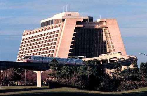 Contemporary Resort Walt Disney World Florida
