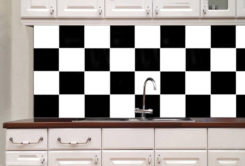 Holoras Tile Sticker 6 X 6 Square Bathroom Kitchen Tile Transfer Removable Wall Stickers Deco Stick Tile Backsplash Stick On Kitchen Backsplash Tile Backsplash