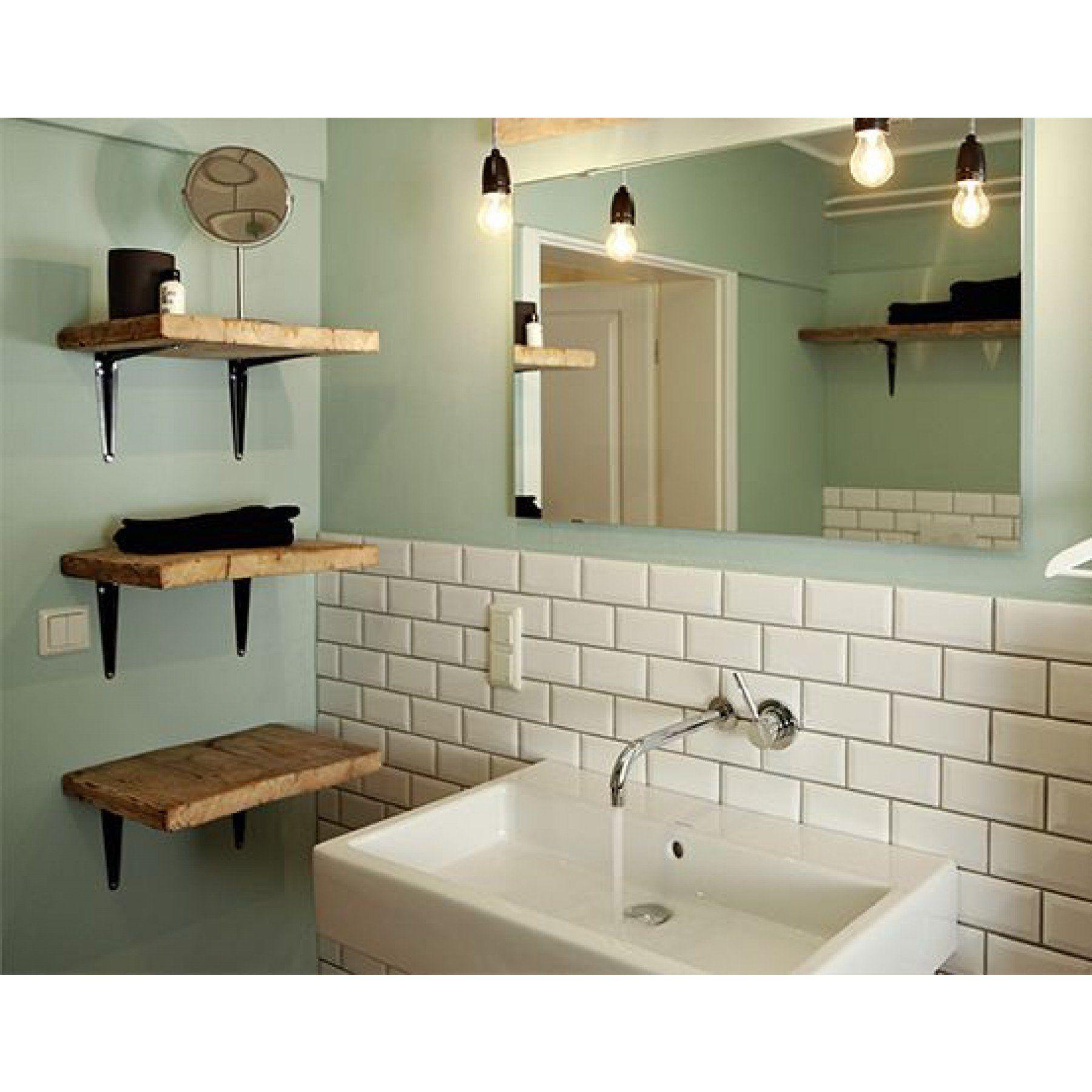 Photo of Tile world wall tile Collexion Metro tiles white high gloss 10x20cm buy now cheap!