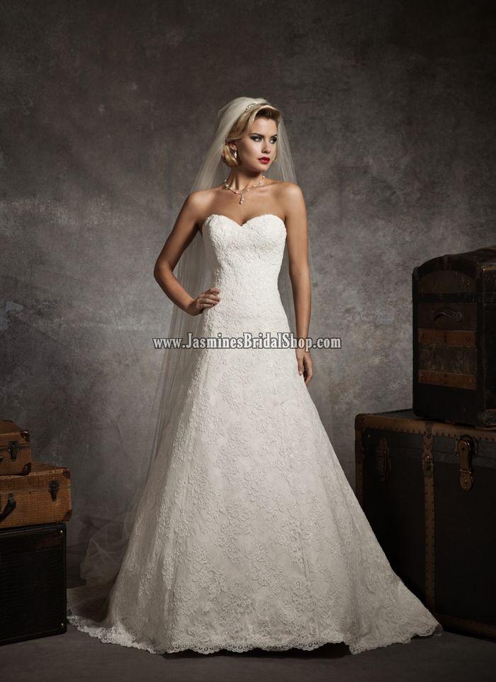8627 Bridal Gown (2012) Designer Bridal Inspirations Justin A. Jasmine's Bridal Shop - Wedding Dress, Cocktail Dress, Bridal Accessories