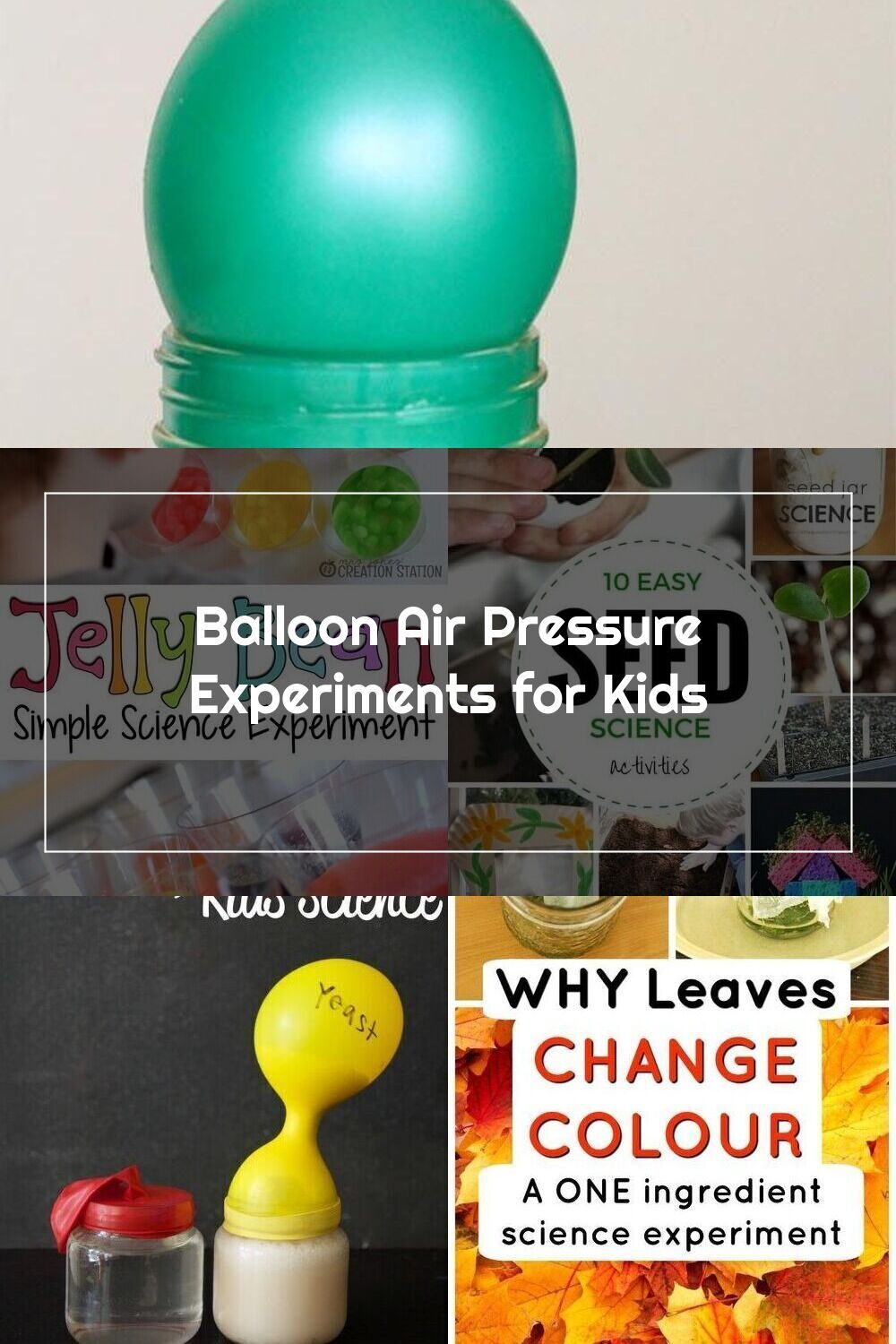 Wow! What a simple way to teach kids about air pressure