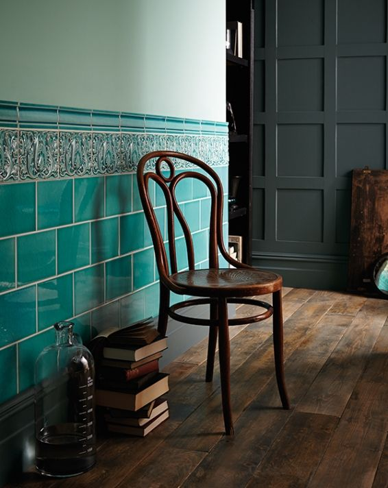 Fired Earth Turquoise Bathroom Tiles Doors And Floors Swivel Chair Living Room