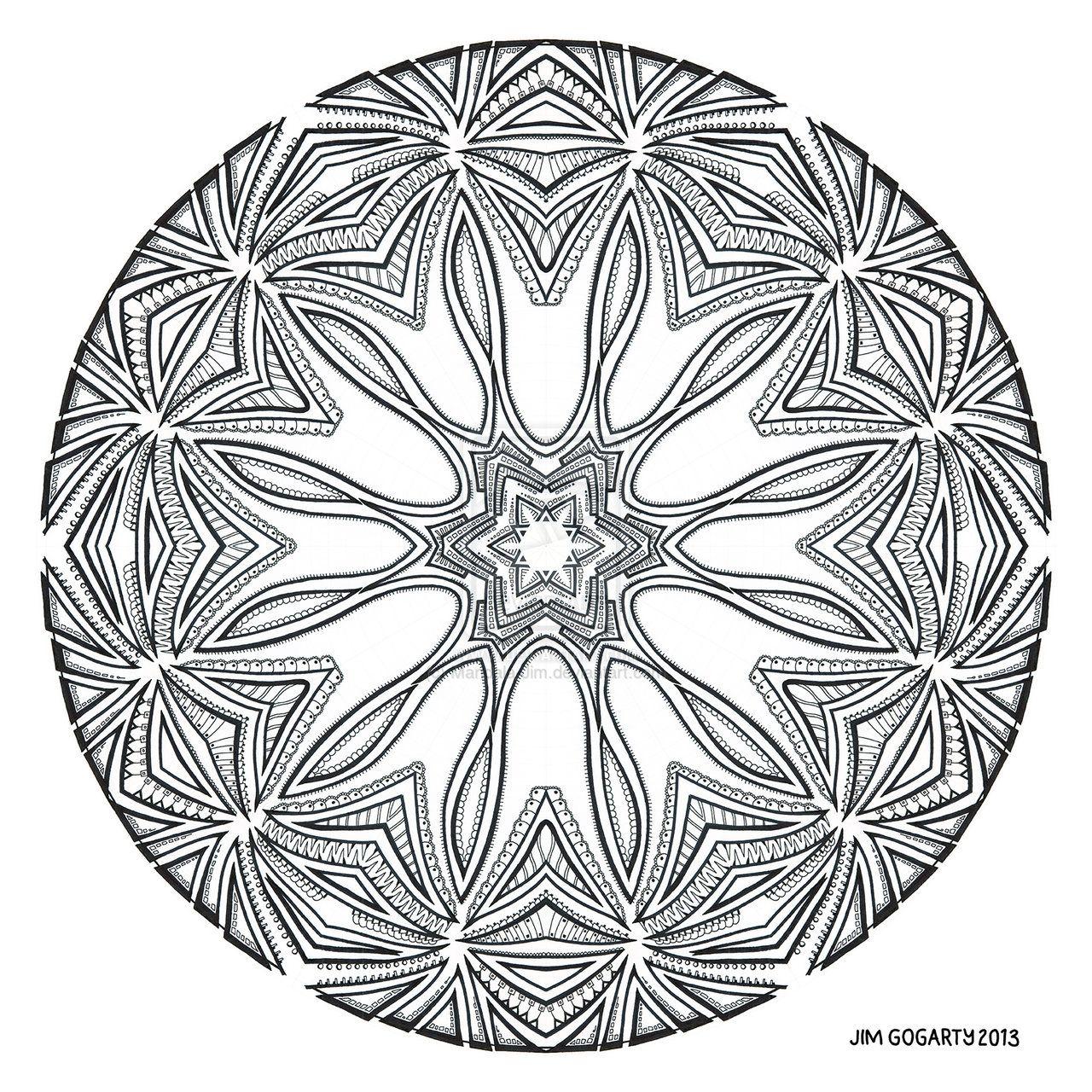 google images mandala coloring pages - photo#26
