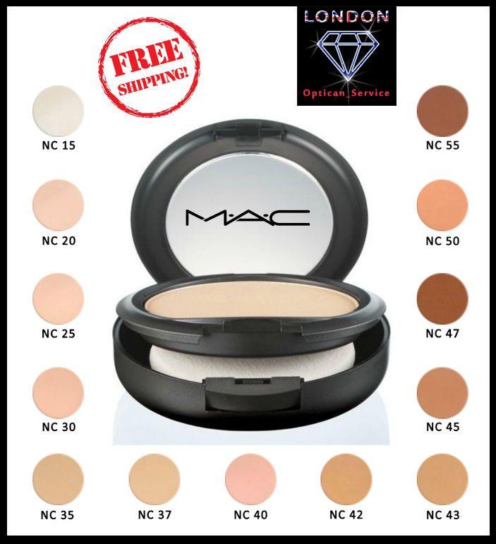 Mac Studio Fix Powder Plus Foundation Color Match