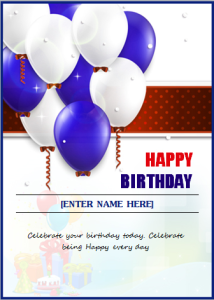 Birthday invitation card at word documents microsoft templates birthday invitation card at word documents stopboris Image collections