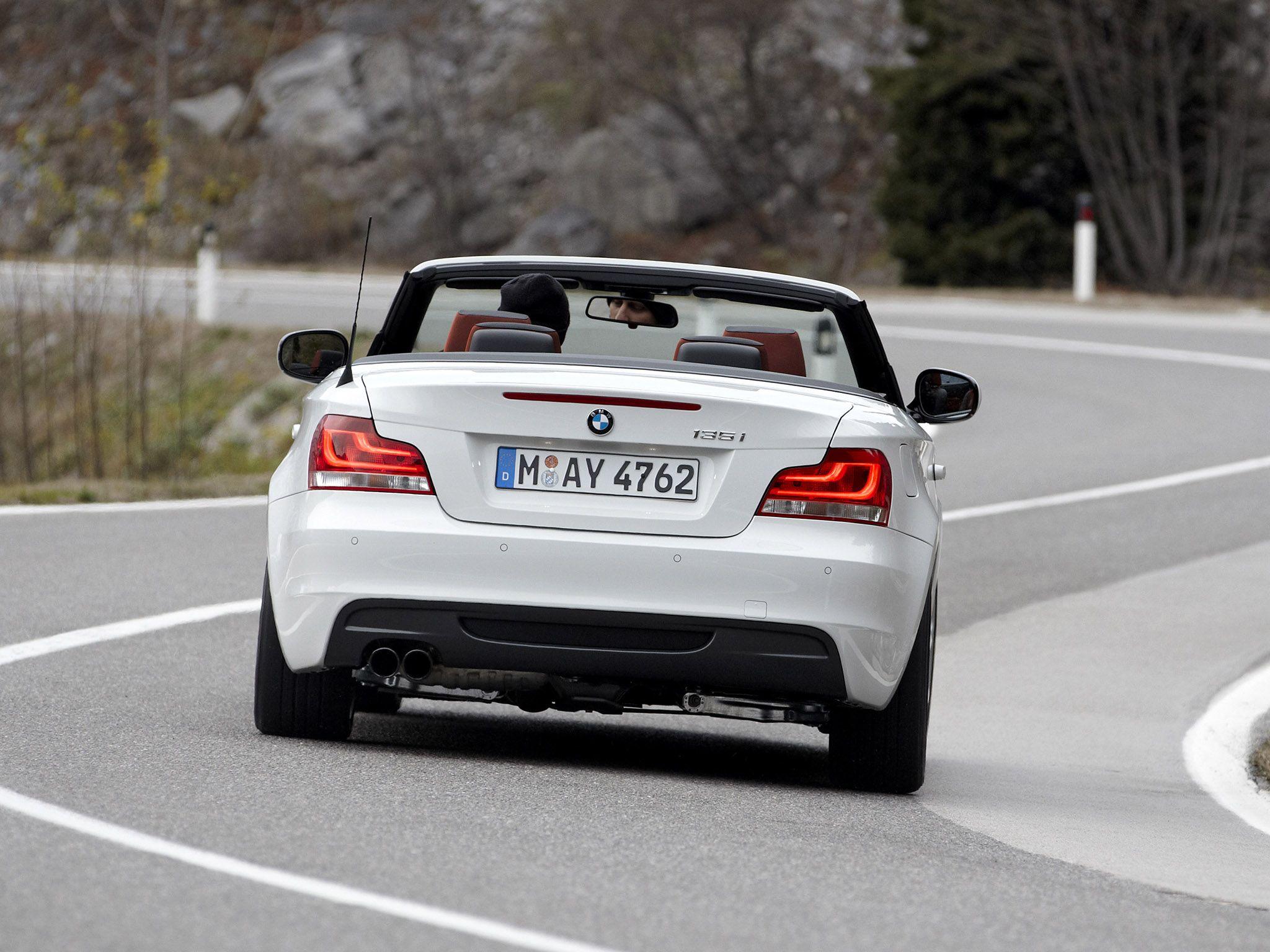 2012 BMW 1 Series Convertible car rear   BMW   Pinterest   BMW ...