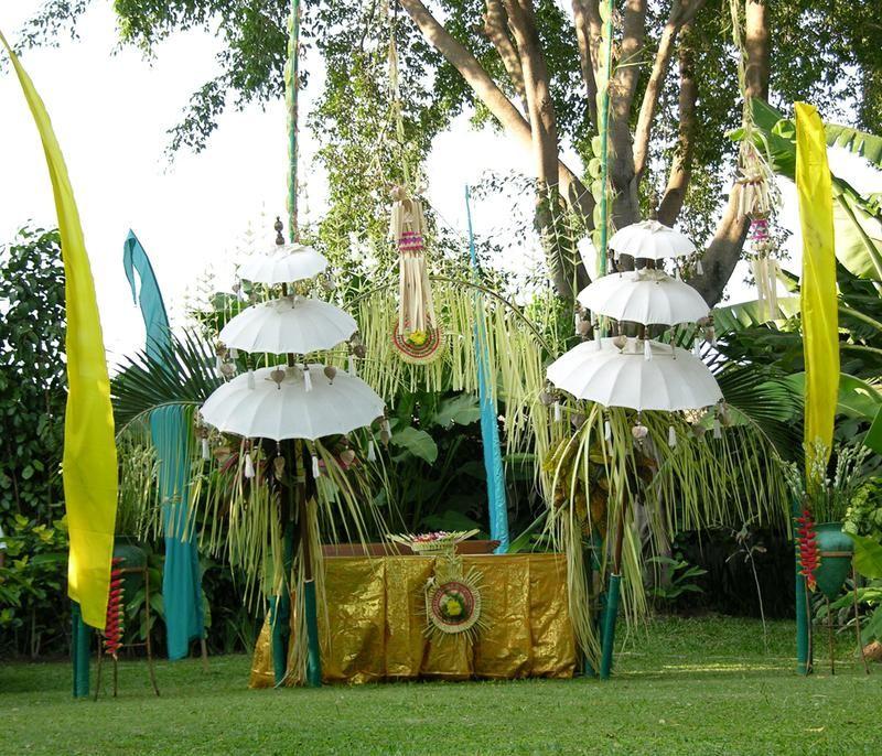 Bali Decorating Ideas Balinese Wedding Ceremony Decoration