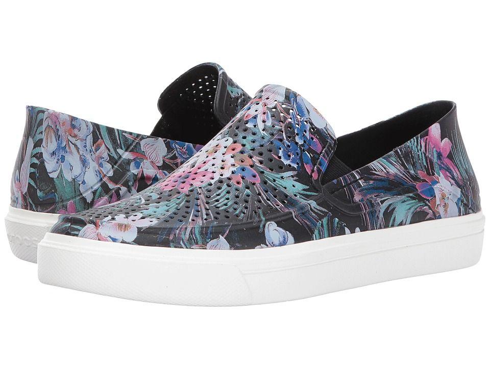 cc37388cdc Crocs CitiLane Roka Graphic Slip-On Women s Slip on Shoes Tropical ...