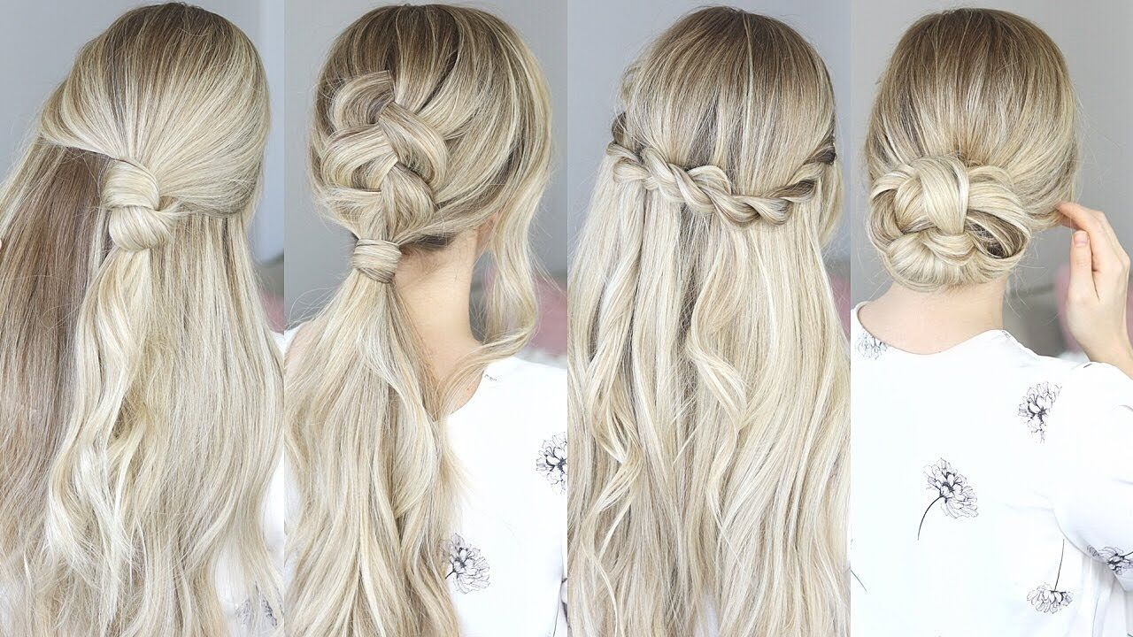Easy hairstyles for spring perfect for medium hair and long hair
