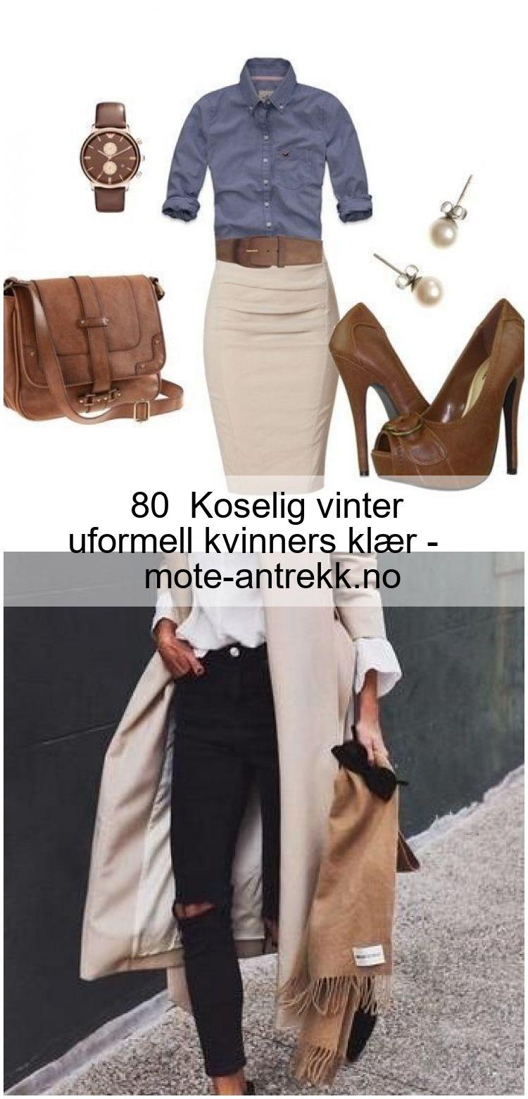 Photo of 80+ Koselig vinter uformell kvinners klær – mote-antrekk.no