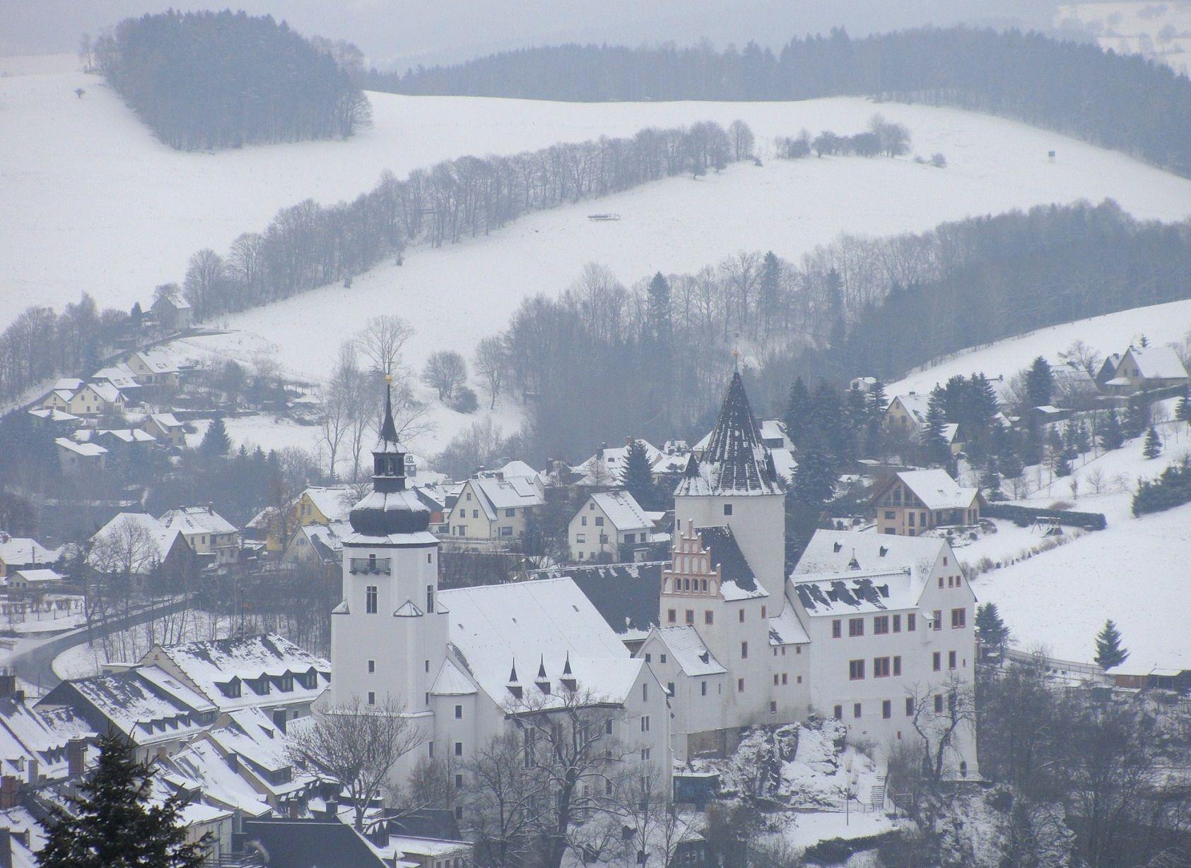 Gotha mobili ~ The church and castle of schwarzenberg germany almanach de