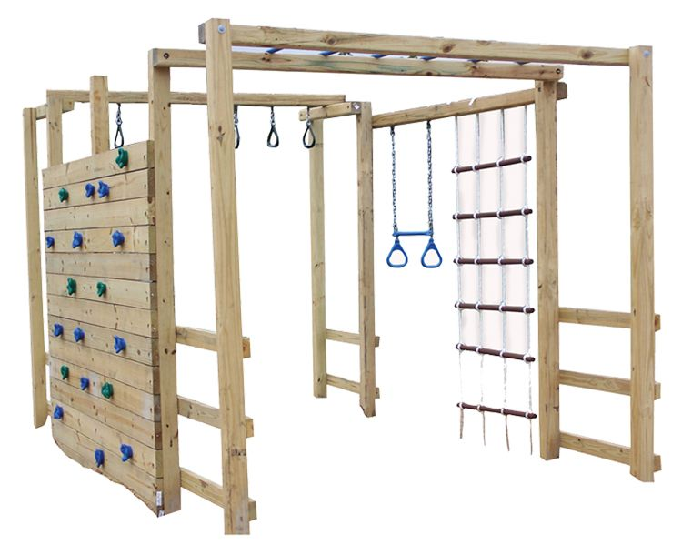 Supernova Jungle Gym Accessories Hardware Kit Spare Time - Backyard jungle gyms