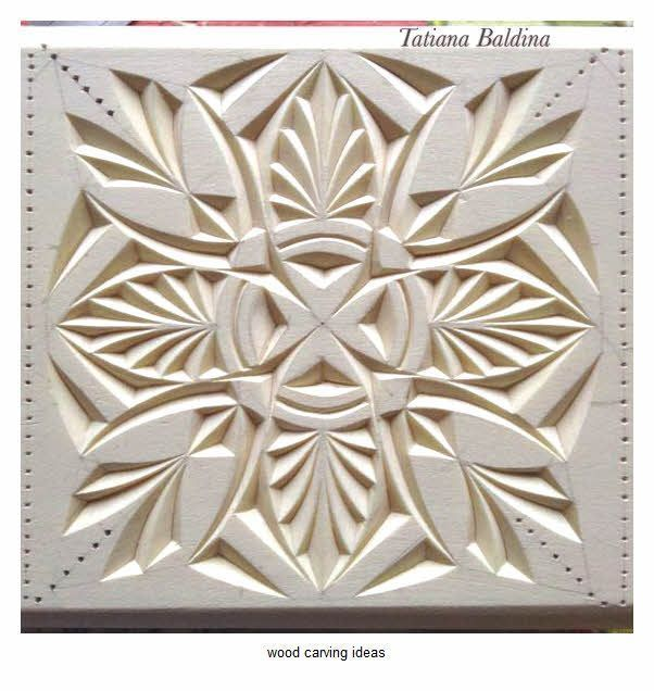 Chip Wood Carving Pattern For Beginner Example WoodworkingPlansForKids