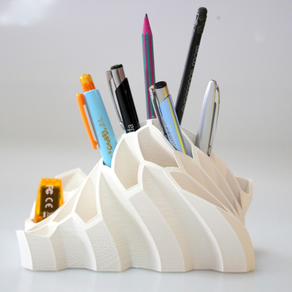 3DfileMarket 3d Printed Low Poly Desk Tidy