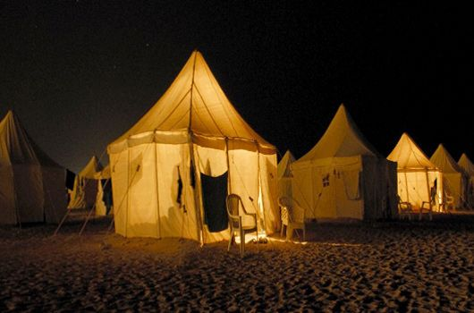 Domed Canvas Tents | Red Sea Egypt