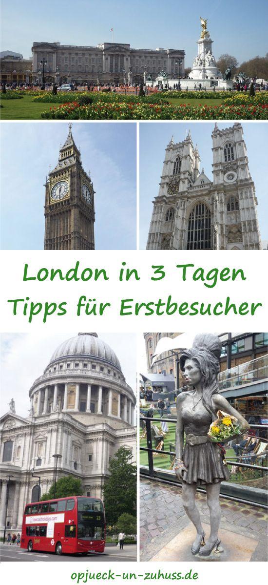 London in 3 Tagen - Sehenswürdigkeiten #travelengland