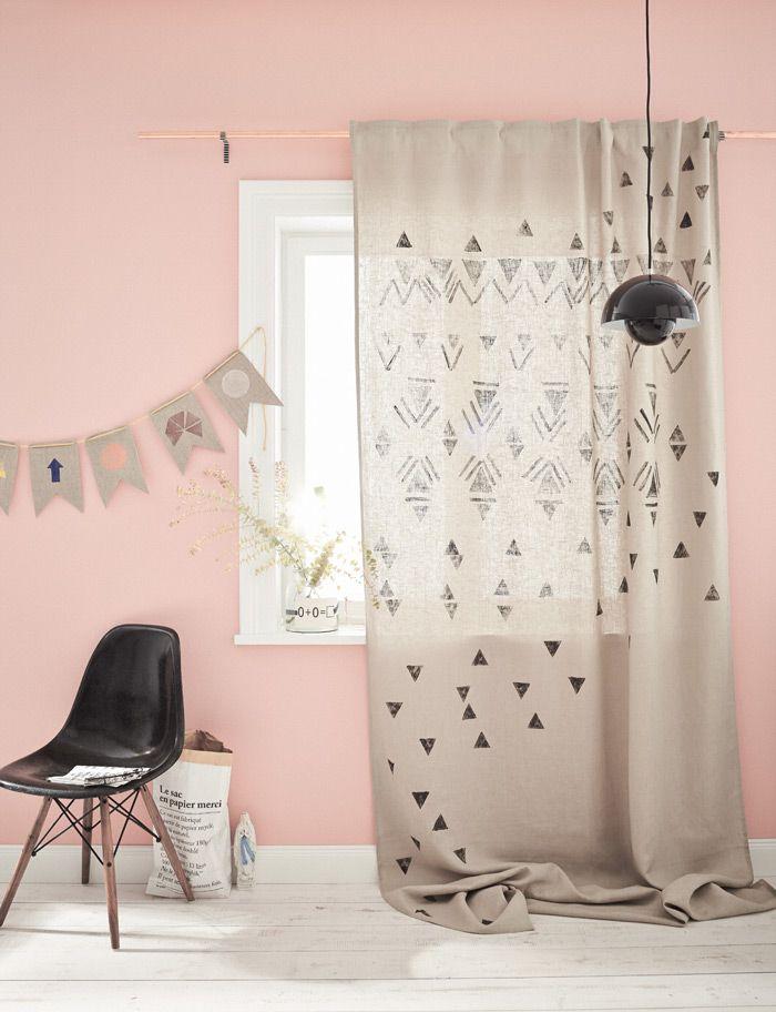 diy do it yourself ideen zum selbermachen in 2018 inspiration pinterest vorh nge. Black Bedroom Furniture Sets. Home Design Ideas
