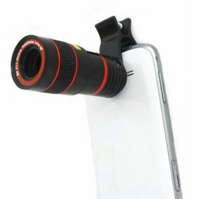 Telephoto Zoom Lens External Smartphone Camera Lens Phone Lens