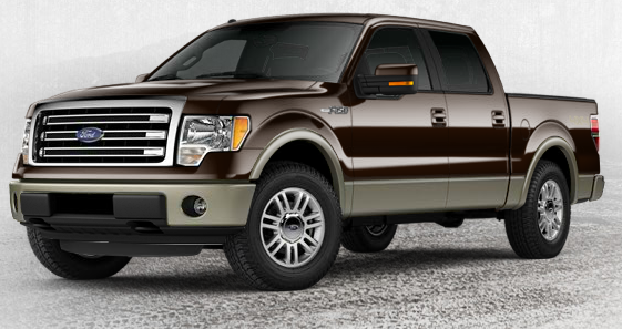 2013 F150 Lariat SuperCrew with 501A Equipment Package