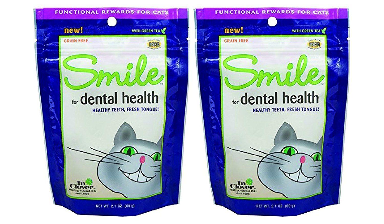 In Clover Smile For Dental Health Cat Treats 2 1 Oz X 2 Packs For More Information Visit Image Link Dental Health Dental Health