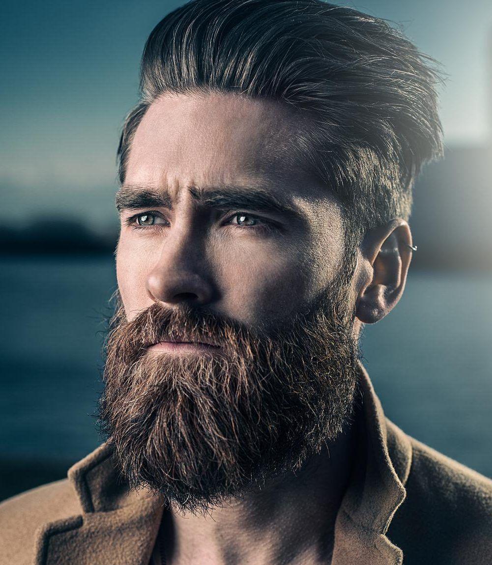 Magnificos Cortes De Pelo Para Hombre Con Barba 2018 Peinados