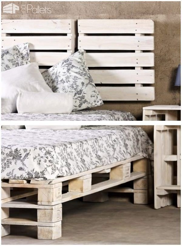 62 Creative Recycled Pallet Beds You Ll Never Want To Leave
