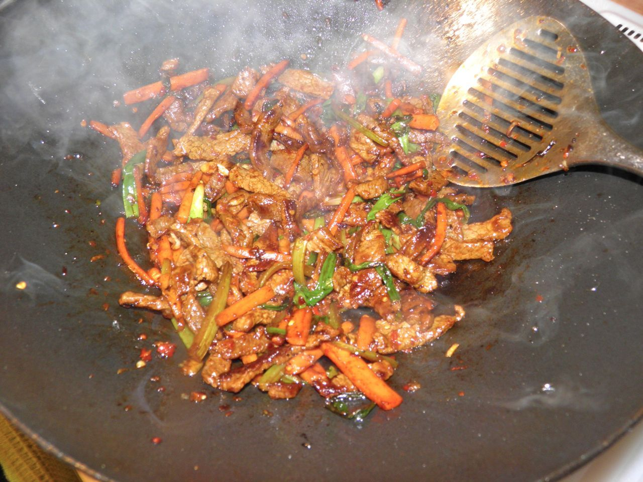 Chinese Rediscovered: Dry-fried Szechuan Beef with Crispy ...