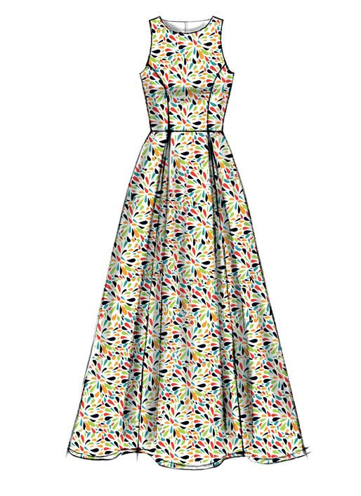 M6953 | McCall\'s Patterns | vestidos de damas | Pinterest | Molde ...